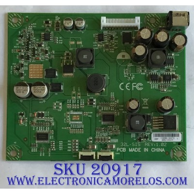 PLACA DE CIRCUITO WESTINGHOUSE / 69.EB41X.03A / 32L-SIS / PANEL V320BJ2-P01 REV.C1 / MODELO LD-3235 TW-64411-U032E