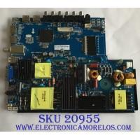 MAIN FUENTE (COMBO) RCA / 77H09861708 / CV3456H-A50 / 7 T3458HA50110.5A1 / PANEL LSD550BA01 / MODELO RTU5540-C