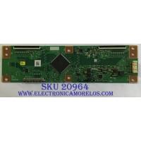T-CON LG / RUNTK0334FVYL / 1P-0171X00-40SB / RUNTK0334FV / PANEL NC600DQE-VSHP1 /