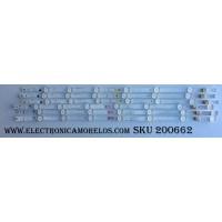 KIT DE LED PARA TV / MAGNAVOX LM41-00157A / UDULED0SM057 REV.A / UDULED0SM056 REV.A / SAMSUNG_2015FUNAI50_FCOM_B07_DOPPLER_REV1.0_LM41-00157A / / 50W7S1P / 50W6S1P / MODELO 50MV314X/F7 / PANEL U5AU0XH