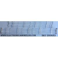 KIT DE LED PARA TV / NC490DUE-AAFX1-41CA / GAN01-1295A-P1 / GAN01-1294A-P1 / QR2CSSAZS