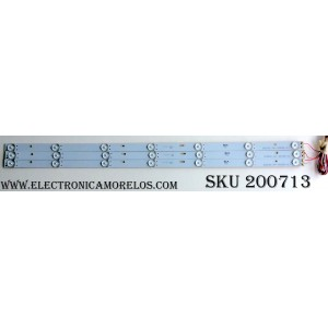 KIT DE LED PARA TV (3 PIEZAS) / INSIGNIA I0Z3BV1 / DLED32-3*7-D503B-V2.1 / PANEL HV320FHB-N00 / MODELO NS-32DD220NA16