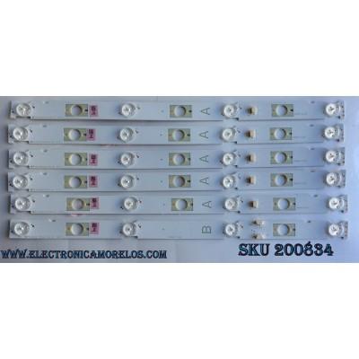 KIT DE LED PARA TV / SONY LB48009 V0_03 / 480090000N / M3090055V094V-0 / MODELO KDL-48W650D