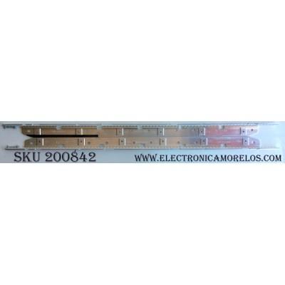 KIT DE LED PARA TV / SAMSUNG BN94-01645A / D411016A0 / D411013A0 / MODELO UN46D6900WFXZA H302 / PANEL LTJ460HW01-B