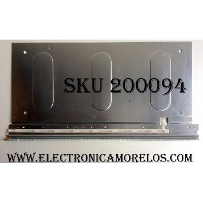 LED PARA TV / HISENSE 12080804 / E117090 / 4AD074762 / M1120824 / VLED_1 V390HK1-LS5-TREM4 / PANEL V390HK1-XLS5 / MODELO 39K310