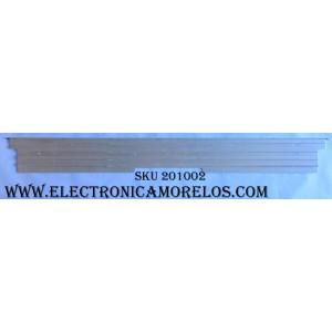 """KIT DE LED PARA TV / LG 6916L-2117A / 6916L-2116A / 6916L2116A / 6916L2117A / 65"""" V15 SA UD REV 0.5 6 L-Type / 65"""" V15 SA UD REV 0.5 6 R-Type / MODELO 65UF8500-UB. BUSYLJR / PANEL LC650EQF(PH)(F1)"""