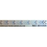 KIT DE LED´S PARA TV (3 PIEZAS) / INSIGNIA SVP320AF7 / SVP320AF7_REV4_7LED_130305 / E0908 007147 A1541 / E0908 007148 A1541 / E0908 007149 A1541 / PANEL DT32K83 V16 / MODELO NS-32D201NA14