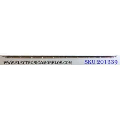 LED PARA TV / SAMSUNG 2011SVS46-FHD-5K6K-RIGHT JVG4-460SMB-R1 / 2011SVS46-FHD-5K6K-LEFT JVG4-460SMA-R1 / BN64-01644A / D310827A0 / PANEL LTJ460HJ05-J / MODELOS UN46D6000SF / UN46D6000SFXZA H302