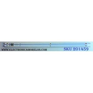 KIT DE LED´S PARA TV (2 PIEZAS) / SAMSUNG2012SVS55 / 7032NNB / PANEL LTJ550HJ08-V / MODELOS UN55ES6100 / UN55ES6100FXZA TS01