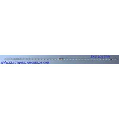 KIT DE LED PARA TV / SAMSUNG ((INCOMPLETO SOLO 1 PIEZAS)) CY-NN050HGNY1H / AOT_50_NU7100F_2X38_3030C_d6t-2d1_19S2P REV.V3 2017/12/06 / 032S2B 94V-0 / 45952A / MODELO UN50NU710DFXZA DA01