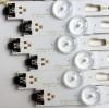 KIT DE LED'S PARA TV (12 PIEZAS) / SAMSUNG BN96-40632A / BN96-40633A / LM41-00335A / E473485 / PANELS CY-GM049HGLV8H / CY-WK049HGLV1V / CY-GM049HGLV2H / CY-WK049HGLV1H / MODELOS UN49KU6500 / UE49MU6300 / UA49KU7350 / MAS MODELOS EN DESCRIPCION