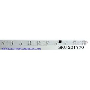 KIT DE LED'S PARA TV (2 PIEZAS) / PROSCAN 3BL-T6254102-21 / JS-KY23FDXD / YS-L  E469119 / PANEL HK315LEDM-OHBFH / MODELO PLDED3273A-B A1505