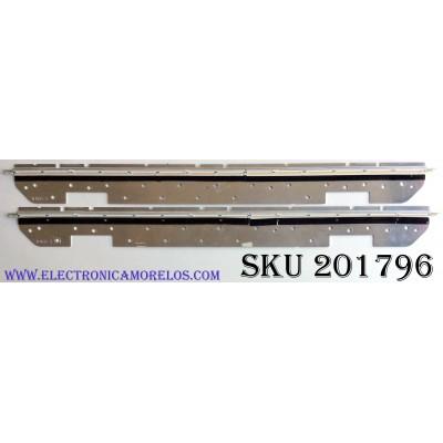 KIT DE LED'S PARA TV (2 PIEZAS) / SHARP K4452TP / T0103 X / 18600 / PANEL LK520D3LWB0Z / LK520D3LWBOZ / MODELO LC-52LE920U
