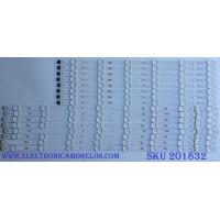 KIT DE LED'S PARA TV (16 PIEZAS) SAMSUNG / BN96-34805A / BN96-34806A / S_5U70_60_FL_R6_REV1.4_150514_LM-00120Y / PANEL'S  CY-GJ060HGSV4H / CY-GJ060HGSV1V / SAMSUNG / MODELOS UN60JU6500 / UA60JU7000 MAS MODELOS EN LA DESCRIPCION.