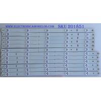 KIT DE LED'S PARA TV / HITACHI / (12 PIEZAS) / LB-C500F14-E4-A-G1-SE1 / SVJ500A38_REV00_5LED_L_140829 / PANEL C500F14-E5-A(G8) HITACHI / MODELO LE50A6R9