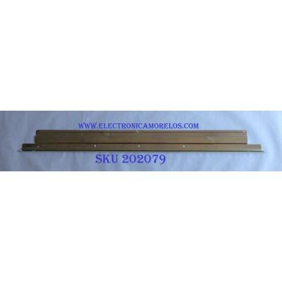 LED PARA TV (1 PIEZA) / LG / 6922L-0159A / 6916L2318A / JJ5419 / PANEL LC550EGE(FG)(M4) / MODELO 55UH6030-UC / 1.21 M X 12CM /