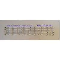 """KIT DE LED'S PARA TV (4 PIEZAS) / LG / SSC_TRIDENT_65UK636_S / SSC_+65UK63(LGD)_9LED_SVL650A71_REV1.0_171201 / 65071 / PANEL NC650DGG AAGX1 / MODELO 65"""""""
