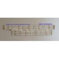 KIT DE LED'S PARA TV / LG / NC490DGG-AAGX1 / GAN01-1380A-P1 / GAN01-1379A-P1 / PANEL'S NC490DGG-AAGX1 / MODELOS 49UK6300PUE.BUSWLOR / NOTA IMPORTANTE : KIT CUENTA ORIGINALMENTE 8  PIEZAS ((INCOMPLETO 7  PIEZAS))