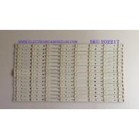 KIT DE LED'S PARA TV (16 PIEZAS) / VIZIO / E600DLB032-005 / EM60DLL5 / EM60DLR5 / PANEL S600FUA-1 / MODELO M60-C3 LFTRSZAR