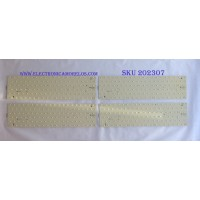 KIT DE LED'S PARA TV (8 PIEZAS) (KIT COMPLETO) / VIZIO / LATHT550RALZB / (3PDAA10003A-R) / PANEL LC550DUS(SC)(M3) /