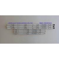 KIT DE LED'S PARA TV (6 PIEZAS) / LG / LC43490076A / A-TYPE LC43490076A, LC43490075A, LC43490090A, LC43490091A / B-TYPE LC43490076A, SSC_43LJ55_A, SSC_43LJ55_B / PANEL NC430DUE-AAFX1 / MODELOS 43LK5700PUA AUSWLJM / 43LK5700PUA BUSFLJM