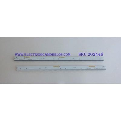 KIT DE LED'S PARA TV (2 PIEZAS) / BN96-34772A / BN96-34773A / 34772A, 34773A, S_5N9_48_SFL_172_V1.1_141126 / S_5N9_48_SFL_L72_V1.1_141126S_5N9_48_SFL_R72_V1.1_141126 / PANEL LSF480FJ06 / MODELOS UN48JS8500FXZA / UN48JS9000FXZA