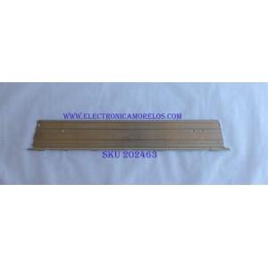 """KIT DE LED'S PARA TV ((INCOMPLETO SOLO 1 PIEZA)) / LG 3660L-0376A / 55"""" V6 Edge FHD-1 / PANEL LC550EUF (SD)(F2) / MODELOS 55LW5300-UC.AUSYLUR / 55LW5700-UE / 71 CM X 9 CM / NOTA IMPORTANTE:KIT CONSTA ORIGINALMENTE 2 PIEZAS"""