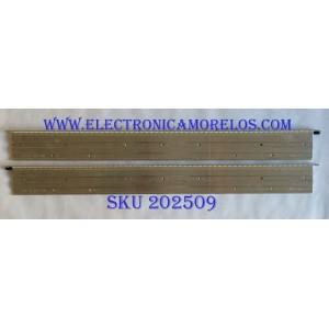 KIT DE LED`S PARA TV (2 PIEZAS) / LG 6916L-0959A / 6916L-0960A / 6916L0959A / 6916L0960A / 6922L-0044A / 6920L-0001C / 47¨ V12 PD Rev0.2 2 L-Type / 47¨ V12 PD Rev0.2 2 R-Type / PANEL LD470EUP (SE)(B1) /  MODELO 47WS50BS-BL / 47WS50BS-BL.AUSJLH