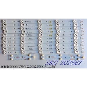 KIT DE LED´S PARA TV (10 PIEZAS) / SONY 1-889-701-11 (1-734-767-11) / 1-889-702-11 (1-734-767-11) / 047S8B 02 / 047S7B 25 / E88441 / SAMSUNG 2013SONY40A 3228 05 REV1.0 130927 / SAMSUNG 2013SONY40B / 130927 / PANEL NS4S400DND01 / MODELO KDL-40W600B