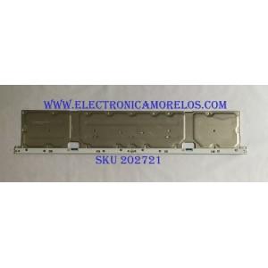 LED PARA TV SAMSUNG (1 PIEZA) / BN96-46466A / BN61-15537A / 46466A / PANEL CY-QN049HLLV1H / MODELOS QN49Q6FNAFXZA FA01 / QN49Q6FNAFXZC / QN49Q6FNAFXZX / QE49Q6FNATXZG / QN49Q6FNAGXPE / QN49Q6FNAGXZD / MAS MODELOS EN DESCRIPCIÓN / 1.06 M X 20 CM /