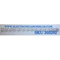 KIT DE LED'S PARA TV HISENSE (2 PIEZAS) / NUMERO DE PARTE HD425X1U81-T0L3+2019110801+SVH425A11 / ZD_SSC_D425_2X14_01_ RFE30_V1.2_20191108 / HIP7.820.150 / 1232141 / E466169 / PANEL HD425X1U51-T0L3/S0/GM/R0H / MODELO 43R6090G5