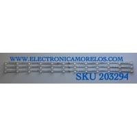 KIT DE LED'S PARA TV TCL (3 PIEZAS) / NUMERO DE PARTE TCL-43D8-3030FC-3X12 / TCL-43D8-3030FC-3X12-A-LX20191111 VER 4 / TCL-43D8-3030FC-3X12-A-LX20191111 VER 4 / YHE-4C-LB4312-YH / PANEL LVU430NEBL CD9W00 / MODELO 43S525