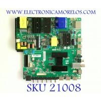 MAIN FUENTE (COMBO) POLAROID /B18004859 / TP.T960X.PC821 / S1051845 / HV550QUB-B05 / PANEL HV550QUBB05 / MODELO PTV55174KILED