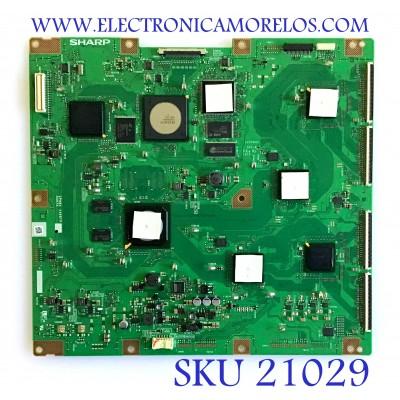 T-CON SONY / RUNTK4498TPZZ / CPWBX4498TPZZ / PANEL P-MOD 46LTTT / MODELO XBR-46HX909
