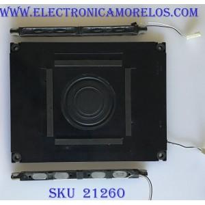 KIT DE BOCINAS / ZA513WJ / PC+ABS FR(40) / JH960 / MODELO LC-52LE830U / 40LE830U /