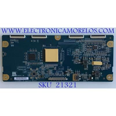 T-CON JVC / AU-55.37T04.004 / T370HW02 V0 / 5537T04004 / PANEL T370HW02 V.1 / MODELO LT-37X68 / LT-37X688V / LT-37XM48V