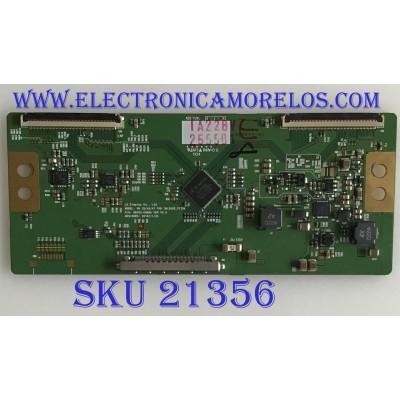 T-CON PANASONIC / 6871L-2555B / 6870C-0368A / 2555B / PANEL LC420EUN-SDV2 / MODELO TC-L42E3