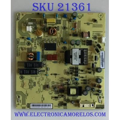 FUENTE DE PODER TOSHIBA / PK101W1500I/ FSP095-3FS03 / PANEL K430WDRA / MODELO 43L511U18