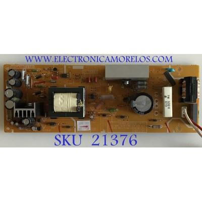 SUB FUENTE JVC / SFL-9711A-M2 / LCA10719- / LCB10719 / PANEL LTA400WS-L02 / MODELOS LT-40X667/ LT-40X787 / LT-40X887