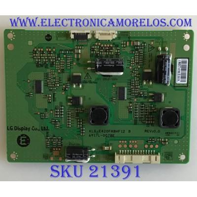 LED DRIVER SHARP / 6917L-0078E / KLS-E420FABHF12 B / PANEL LD420EUN/UH A1 / MODELOS PN-R426 / 42SH7DB-BE AUSNLJM