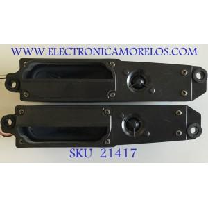 KIT DE BOCINAS  SHARP / RSP-ZA215WJZZ / RSP-ZA216WJZZ / MODELOS LC-32D43U / LC-37D42U / LC-32D62U / LC-32GP1U / LC-37SB24U