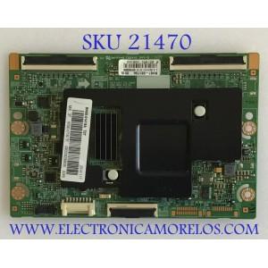 T-CON SAMSUNG / BN95-01418A / BN41-02112A / BN97-08173A / PANEL  CY-SH075DSLV1H / MODELO UN75H7150AFXZA TS01