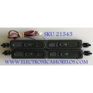 KIT DE BOCINAS ISYMPHONY / DT218-03A / MODELO LED42IF80