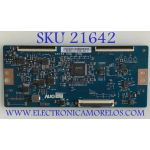 T-CON PARA TV VIZIO QUANTUM 4K UHD HDR SMART TV / NUMERO DE PARTE 55.65T55.C19 / 5565T55C19 / 65T55-C0G / PANEL´S T650QVN07.9 / TPT650UA-QVN07.U / MODELOS M656-G4 / M657-G0 / M658-G1 / M65Q7-H1 / M65Q8-H1 / NS-65DF710NA21 / RTU6549-C