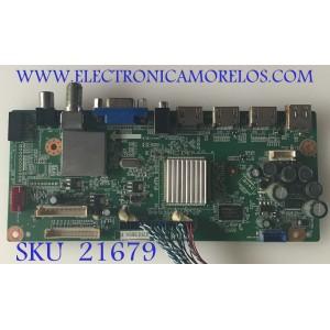 MAIN SEIKI / TI12350 / CV318H-T / 890-M00-0LN19 / 27H1365A / PANEL V390HJ1-L02 / MODELO SC392TS