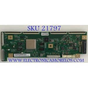 T-CON LG / 6871L-9095A / 6870C-0802A / LE550PQL (HM)(A2) / 9095AJ / PANEL AC550AQL-EMA1 / AC550AQL-FMA1 / MODELOS OLED55B9PUA.DUSQLJR / OLED55B9PUA.DUAQLJR / OLED55C9AUA.DUSQLJR