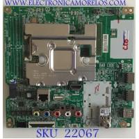 MAIN LG / EBT66197503 / EAX68253604(1.0) / PANEL NC750DQE-ABGR3 / MODELO 75UM6970PUB.BUSGLOR