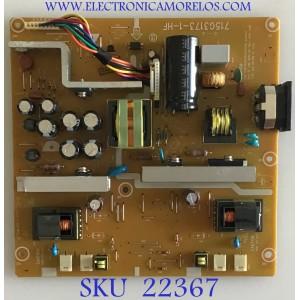FUENTE DE PODER PARA MONITOR DELL / 8D42EAB9 / 715G3173-1-HF / (T)8D42EAB9 / PANEL LTM230TT02 / MODELO SP2309WC
