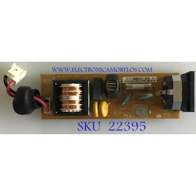 SUB FUENTE PARA MONITOR DELL / 5E0CT30001 / 4H.0CT30.A01 / 453640 REV:A00 / PANEL / LTM240CS05-C03 / MODELO 2408WFPB