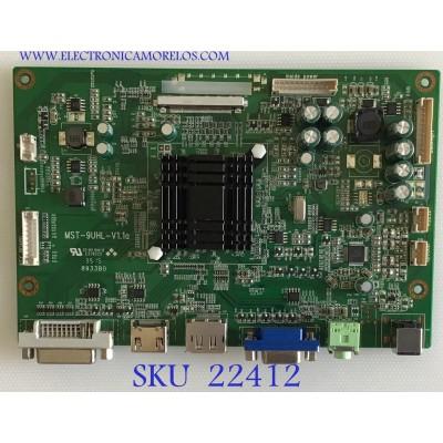 MAIN PARA MONITOR MONOPRICE 4K ULTRA HD / HJRYL06A-N-MTS98A0-Q1280W / MST-9UHL-V1.1A / MUPA115B / PANEL M280DGJ-L30 REV.C1 / MODELO MP-28UHDSS